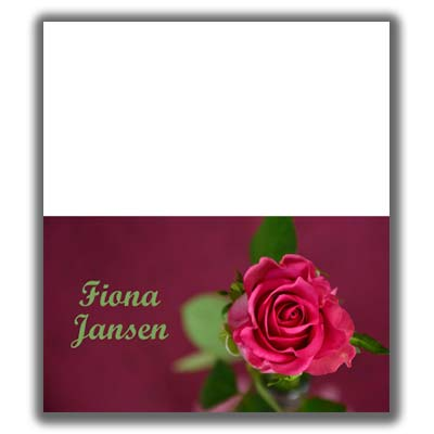 Valentines Day Place Card 2